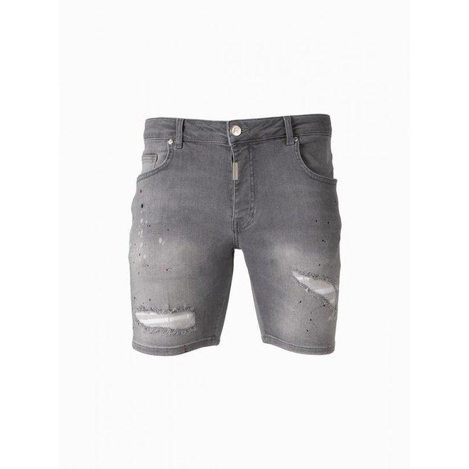 AB Lifestyle   Short Jeans    Grey
