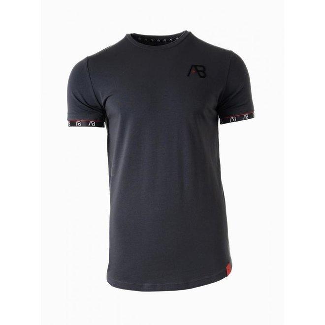 Flag T-shirt | Grey | AB Lifestyle