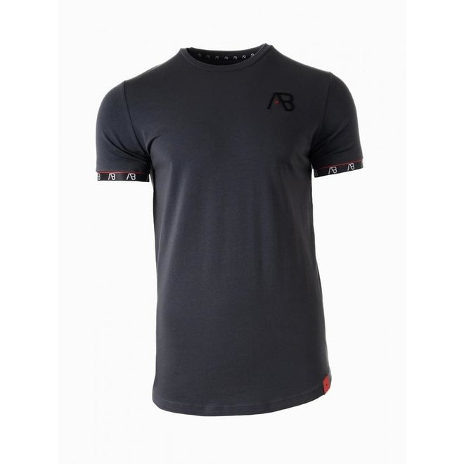 AB Lifestyle | Flag T-shirt |  Grey