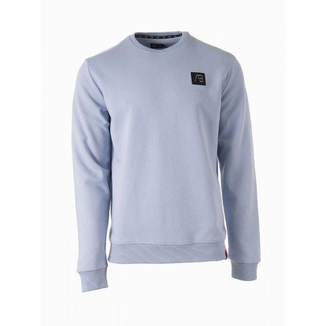 AB Lifestyle   Basic Sweater    Clear Blue