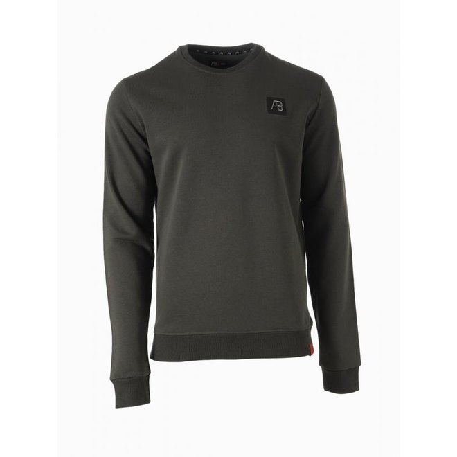 AB Lifestyle   Basic Sweater    Dark Green