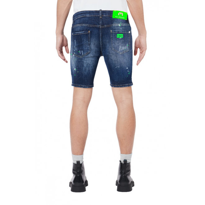 Distressed Shorts |  Neon Green | My Brand