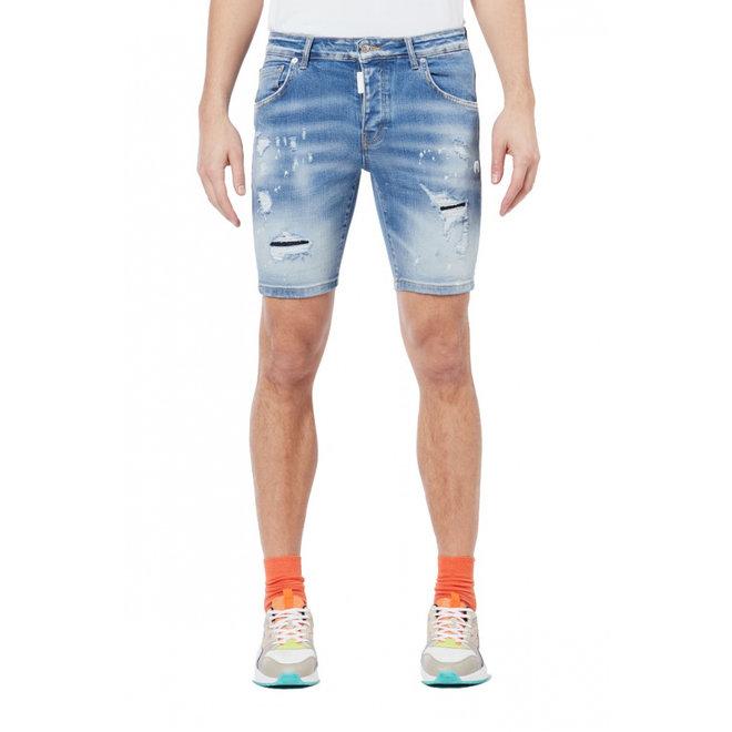 My Brand | Subtle Faded shorts | Light Denim