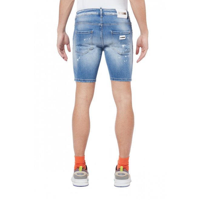 Subtle Faded Shorts | Light Denim | My Brand