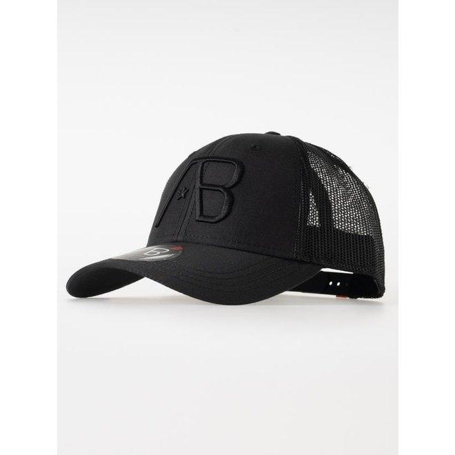 Trucker Cap   Black   AB Lifestyle