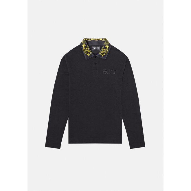 Regalia Baroque Accent Polo Shirt | Versace Jeans Couture