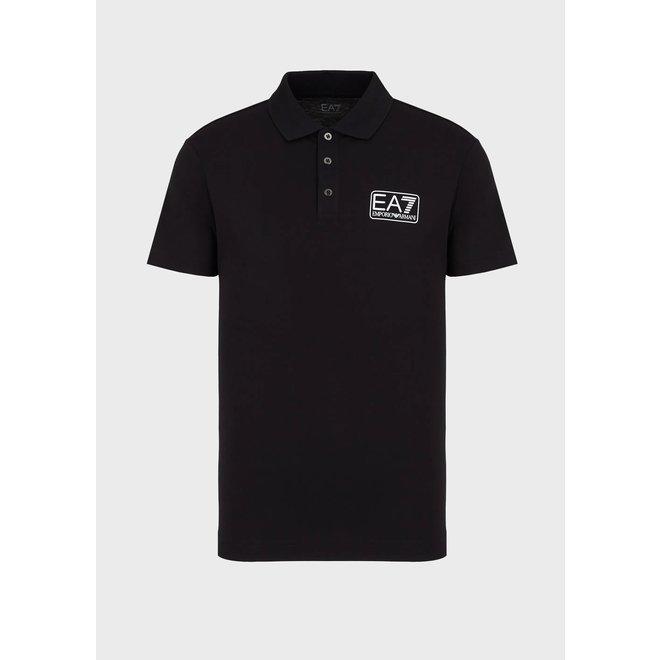 Zwarte polo van EA7