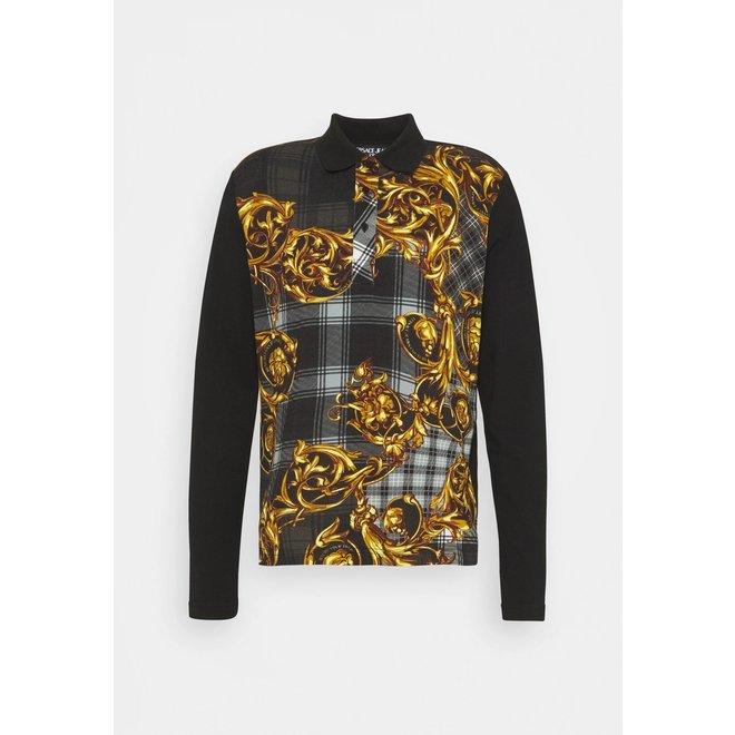 Versace Jeans Couture | Print Tartan Baroque Poloshirt