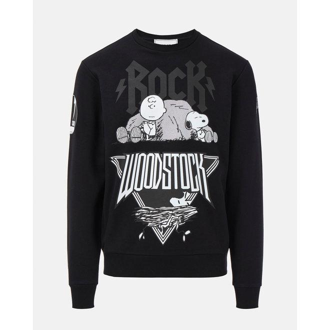Iceberg | Peanuts Sweater | Zwart