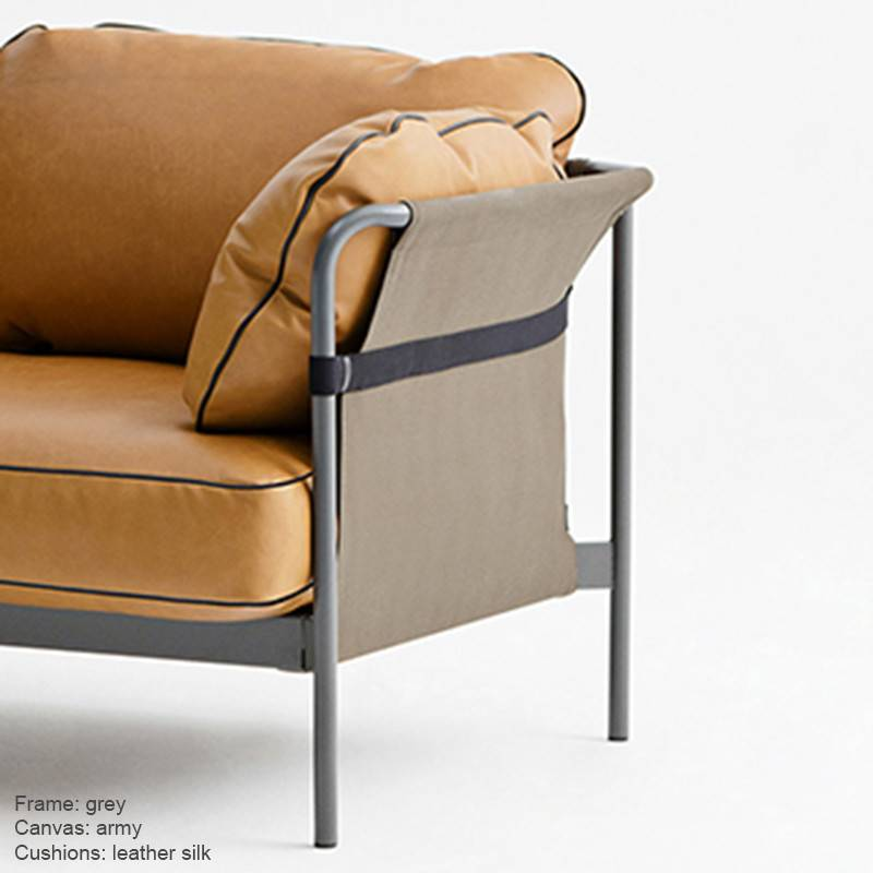 HAY CAN sofa Leather 3p