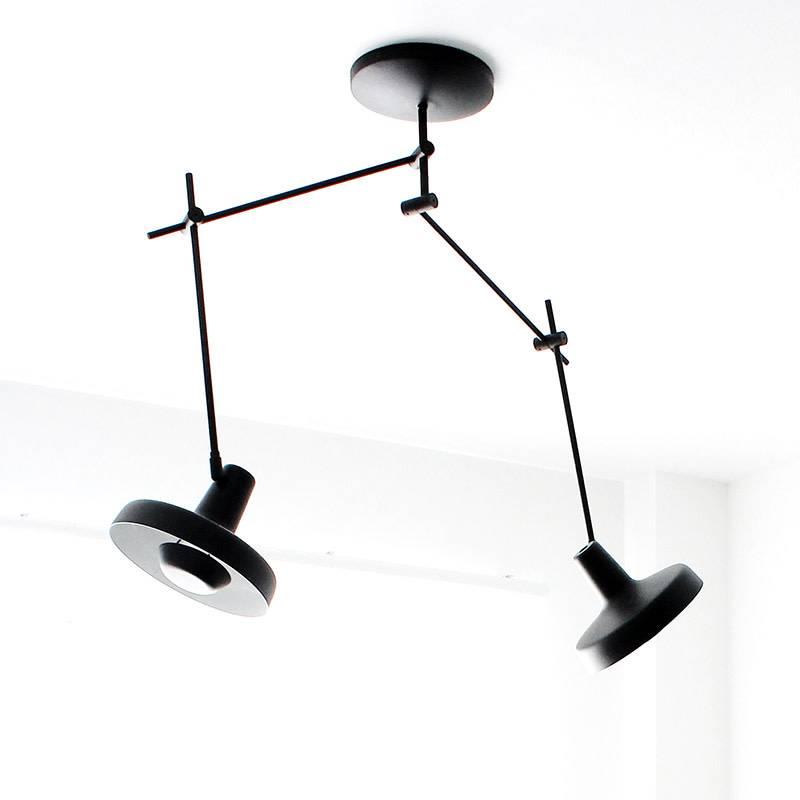 Grupaproducts Arigato plafondlamp dubbel