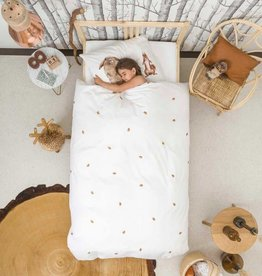 SNURK beddengoed FLANEL Housse de couette Furry Friends