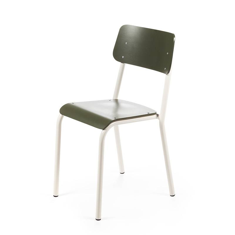 Declercq Mobilier ML chaise assise teinté