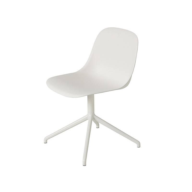 Muuto Fiber Side Chair dessous pivotant