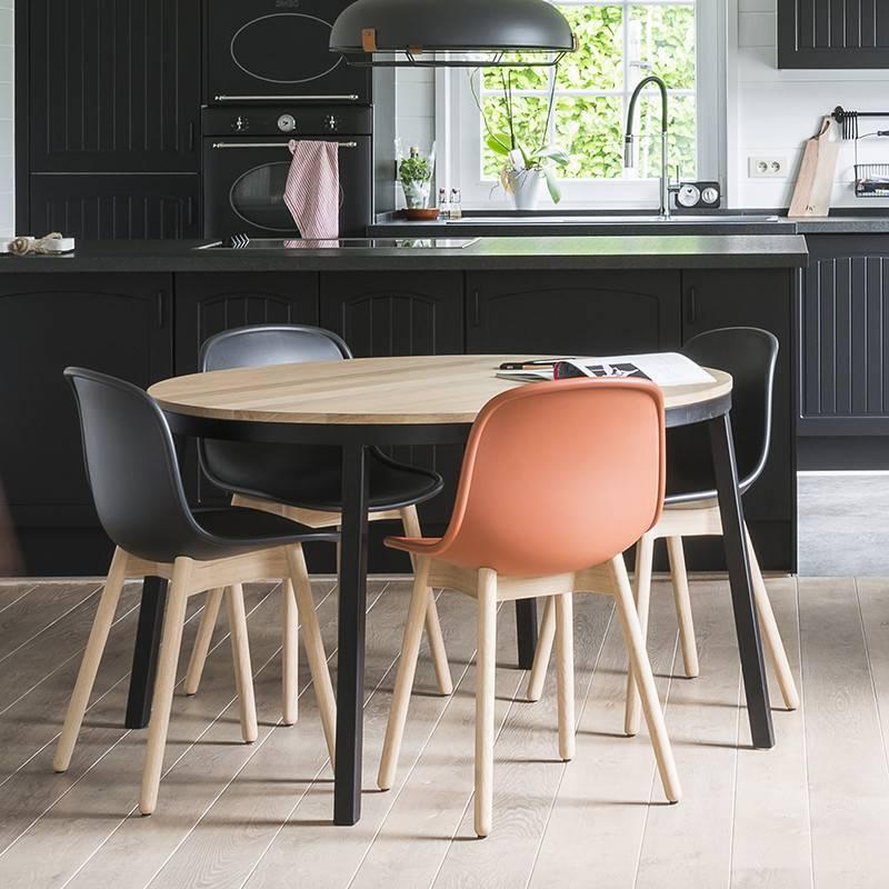 Ronde Eettafel Te Koop.Opsmuk Tafel Eik Rond Prachtig Design Ik Koop Belgisch Livingdesign