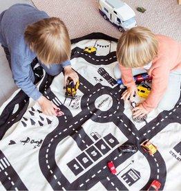 Play&Go Roadmap Sac de jouets - tapis de jeu