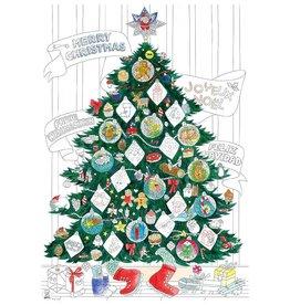 OMY Kleurposter Kerst