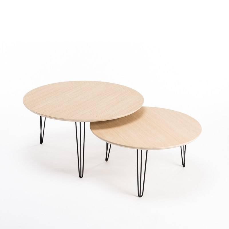 Opsmuk Table d'appoint chêne