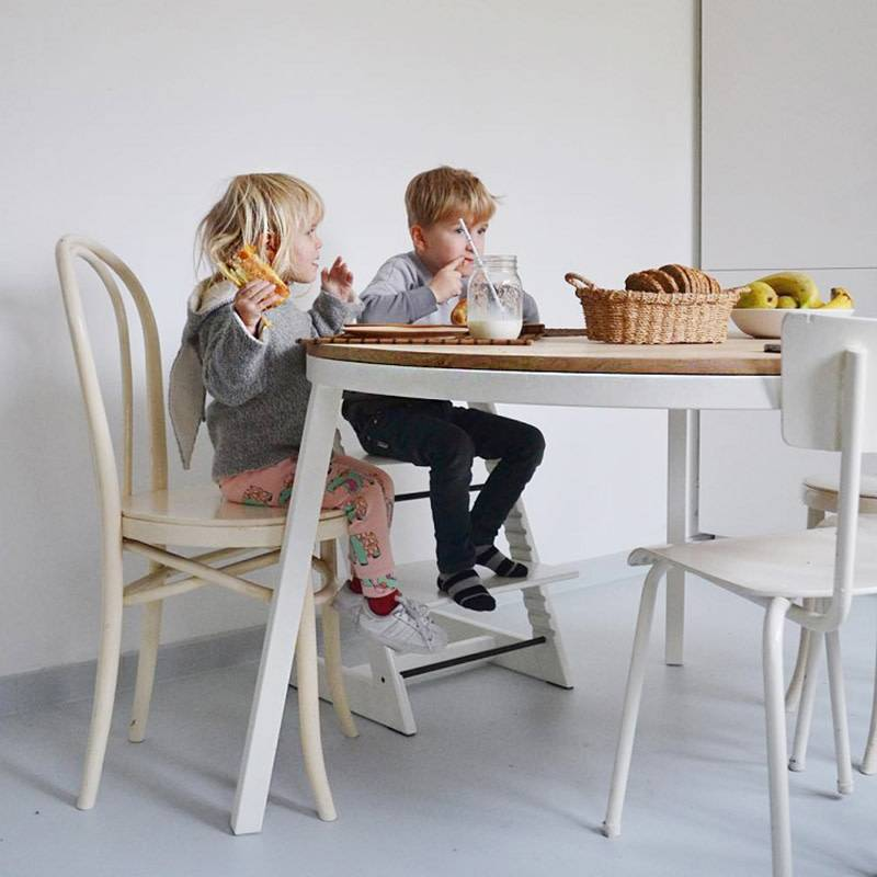 Opsmuk Table Rond (blanc)