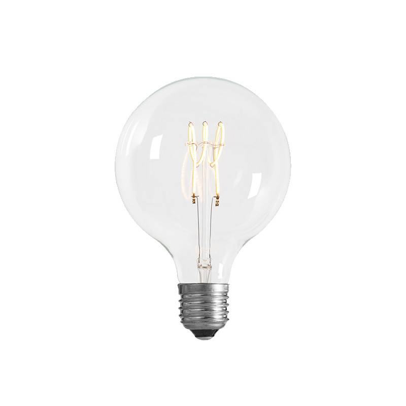 NUD Collection Lamp 125mm LED Spin E27