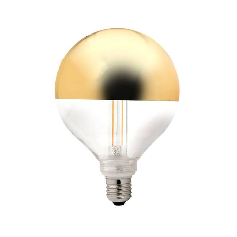 Other brands Lamp Spiegel kroon goud 120mm LED 3.5W