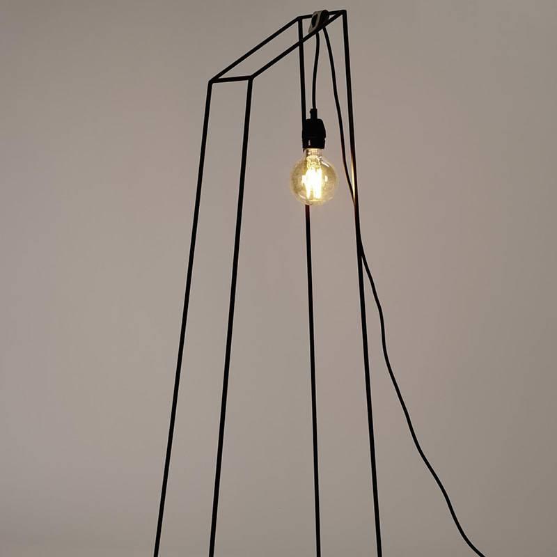 Serax Lamp Just A Light Pyramide noir