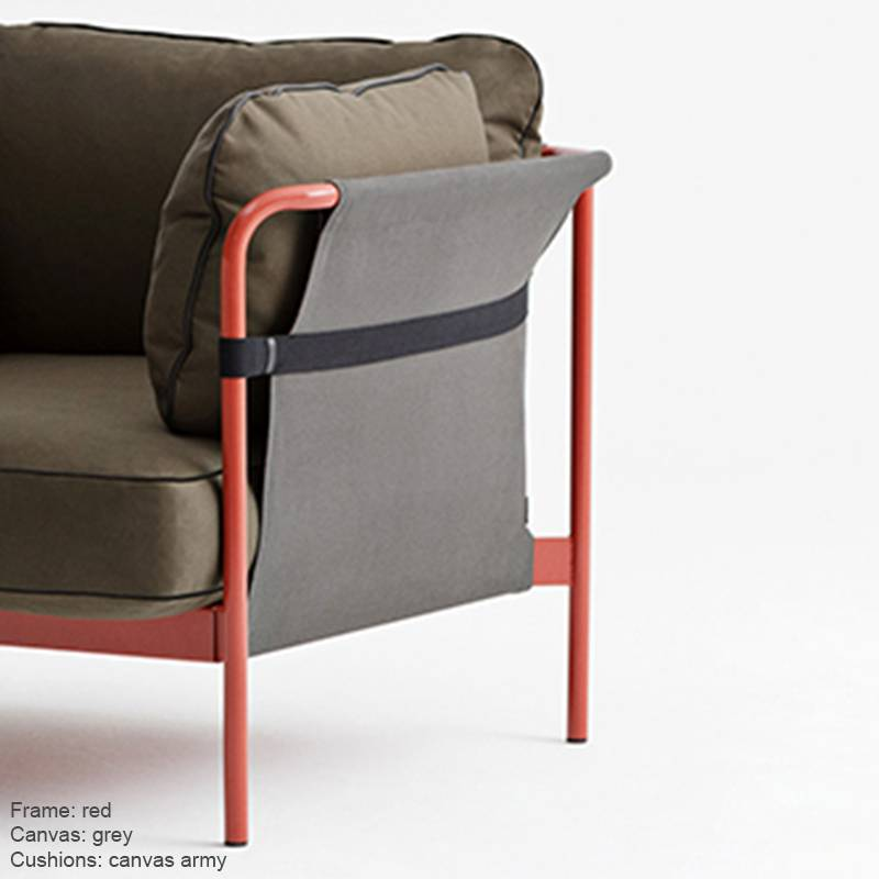 HAY CAN - Fauteuil Canvas 2p