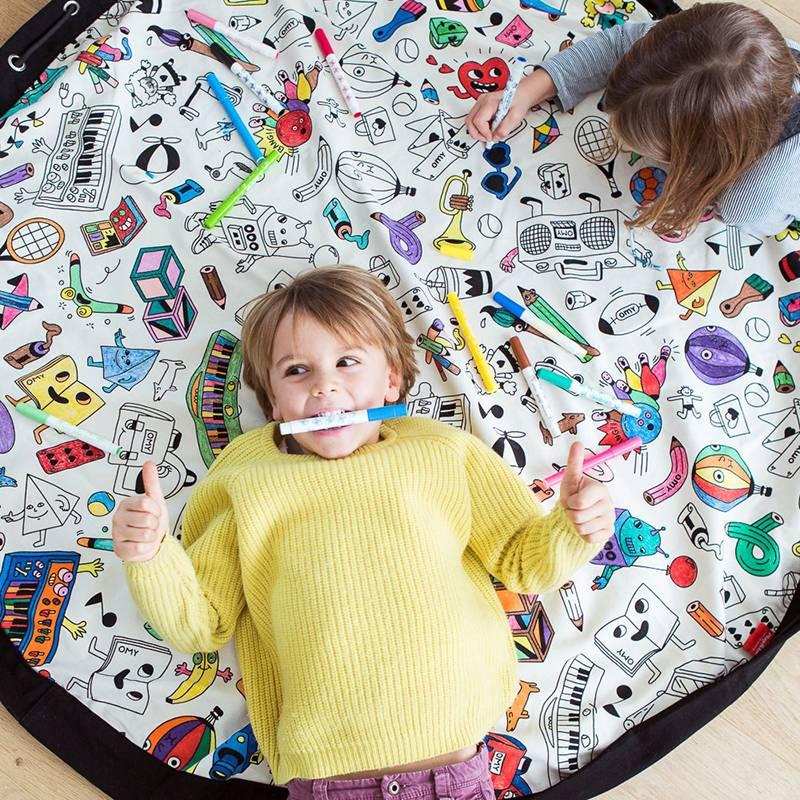Play&Go Colormap Opbergzak- speeltapijt