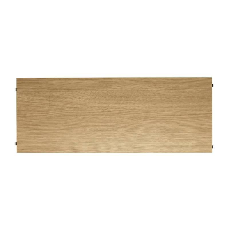 String Pocket wandkast eik-wit 60x15x50