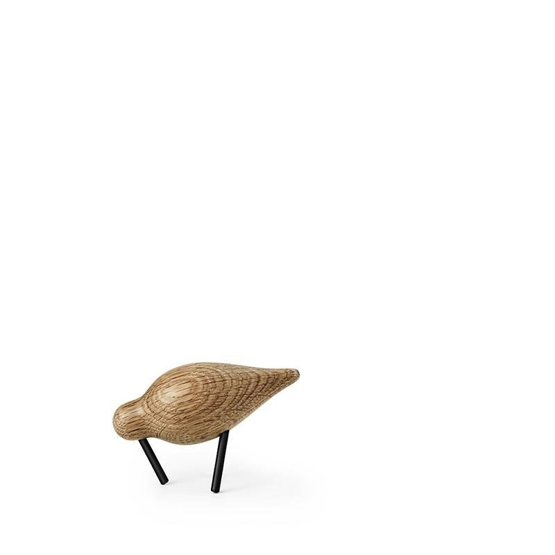 Normann Copenhagen Shorebird eikenhout zwart