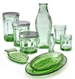Serax Bouteille 1 litre Fish&Fish vert transparant-
