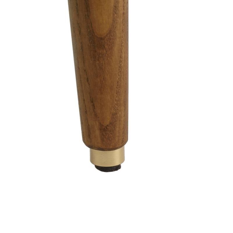 366 Concept Fox Armchair Velvet - Sur les photos vous voyez le frêne foncé!