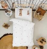 SNURK beddengoed Housse de couette Furry Friends COTON