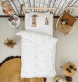 SNURK beddengoed FLANEL Housse de couette Furry Friends