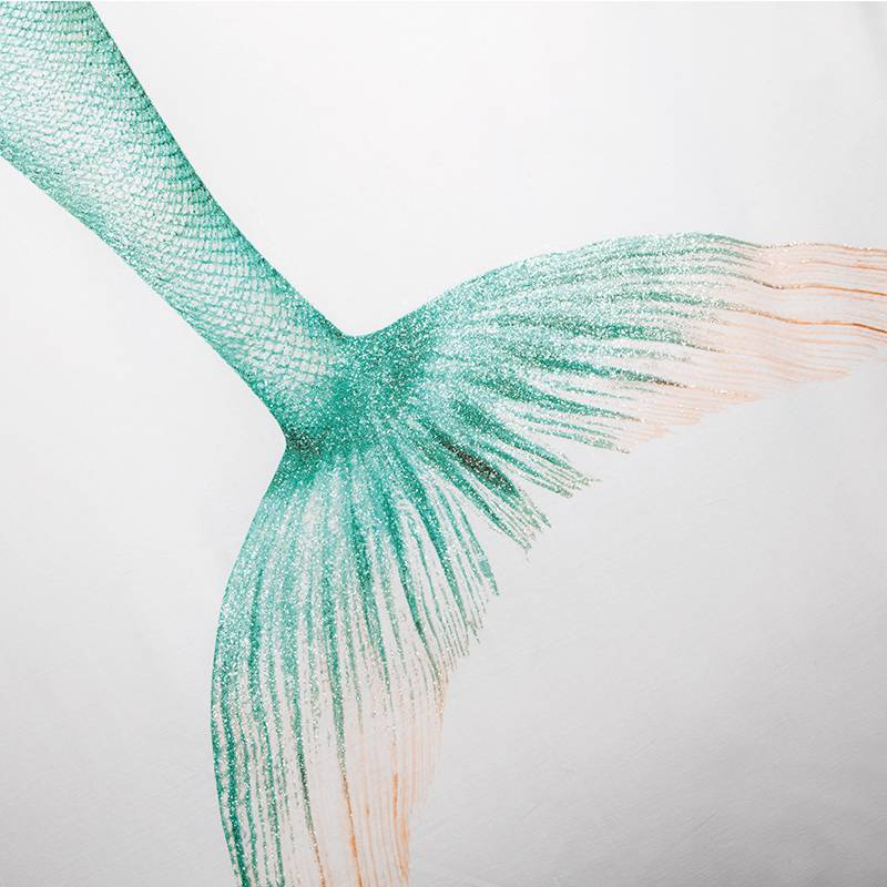 SNURK beddengoed Zeemeermin Mermaid dekbedovertrek (GLOSSY!)