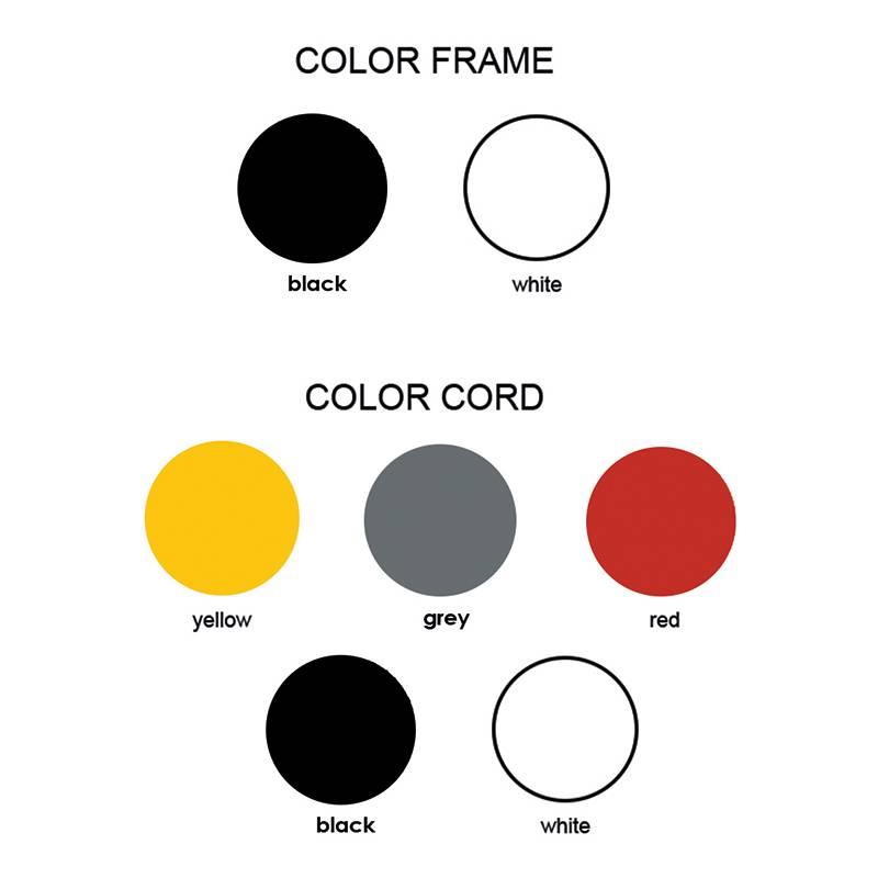 Grupaproducts Vloerlamp Model2 zwart
