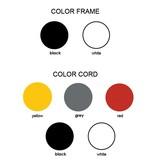 Grupaproducts Vloerlamp Model3 zwart