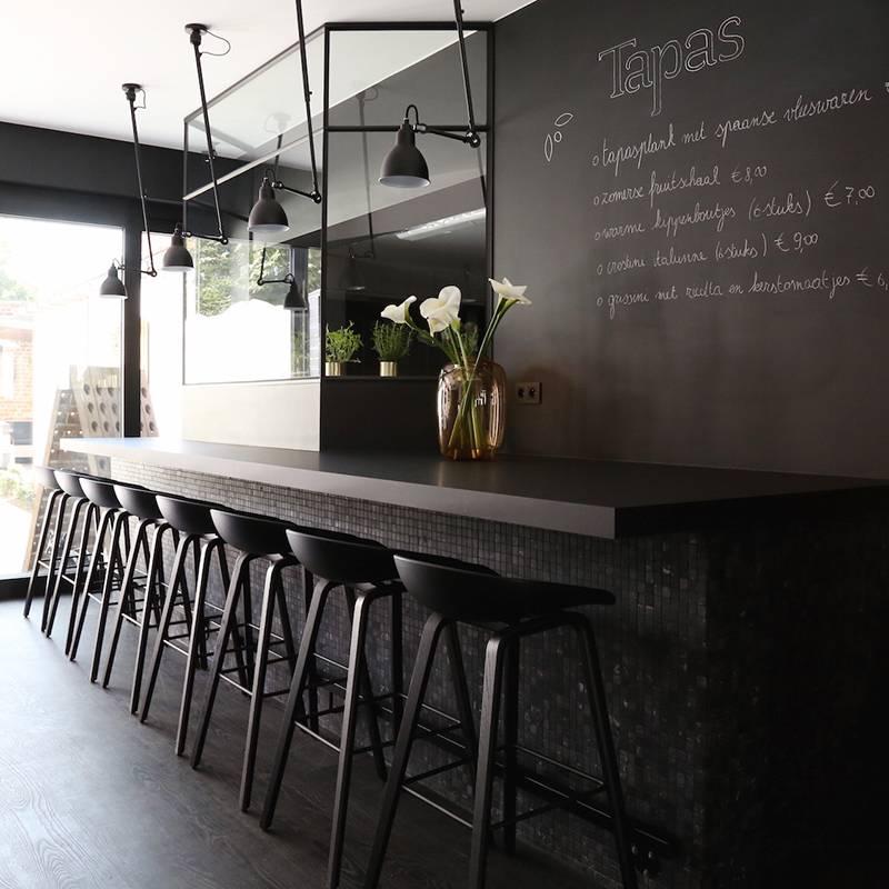 HAY Tabouret de bar 'About A Stool' AAS32 noir-noir