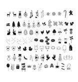 A Little Lovely Company Set symboles pour lightbox