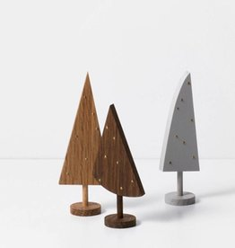 Fermliving Sierboompjes hout (set van 3st)