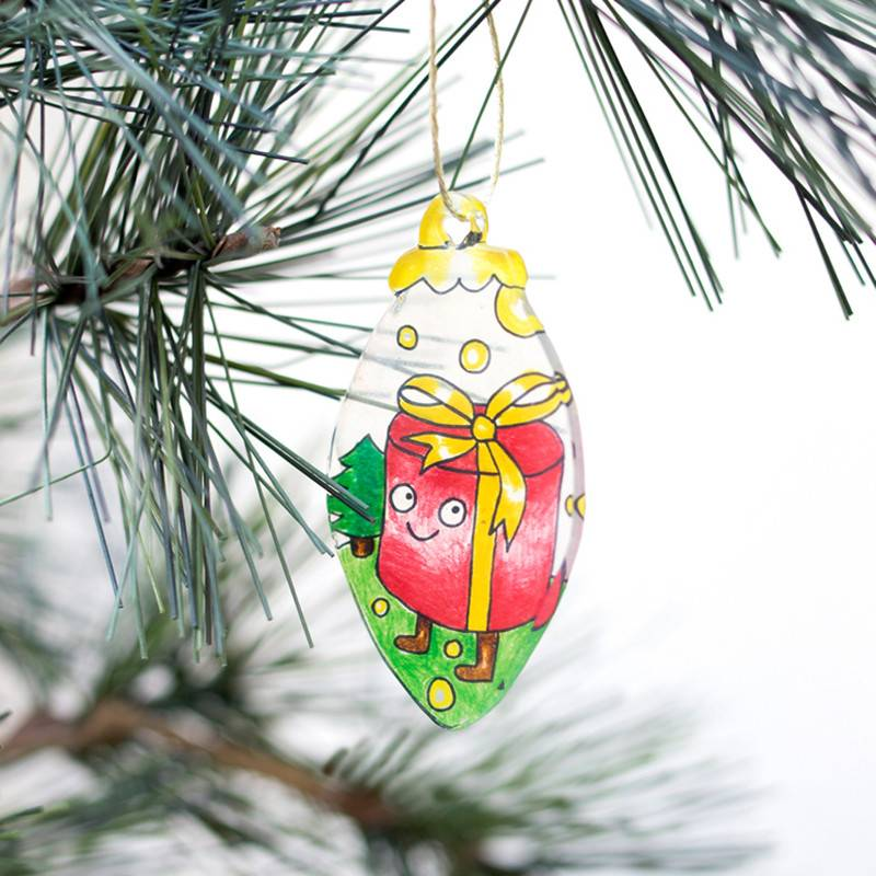 OMY Magic plastic - Christmass shrinkles