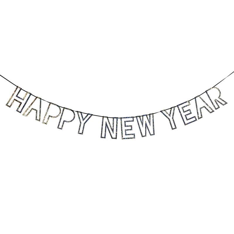 Meri Meri Guirlande Happy New Year brillant