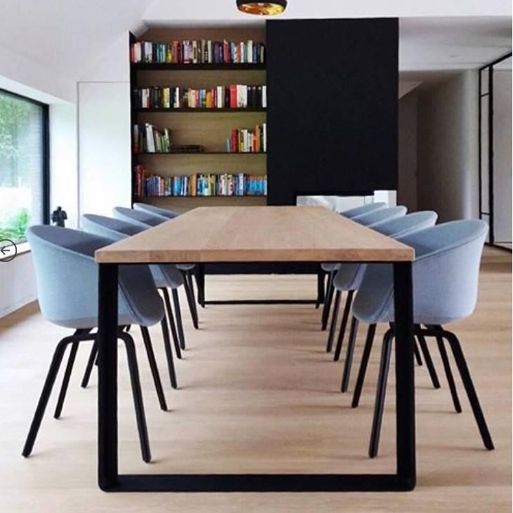 Opsmuk Table chêne profil-U - OPSMUK