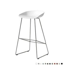 HAY AAS38 tabouret de bar - stainless steel frame