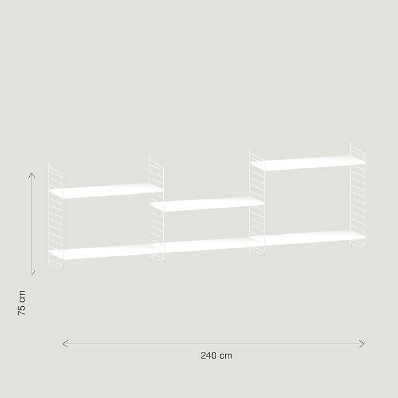String Wandconfiguratie 17 - String