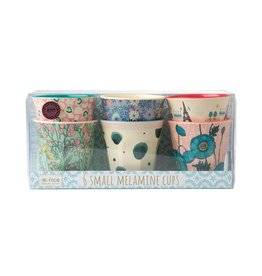 Rice Drinkbeker print Small - set van 6
