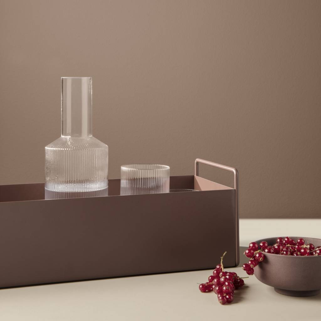 Fermliving Ripple Carafe clear
