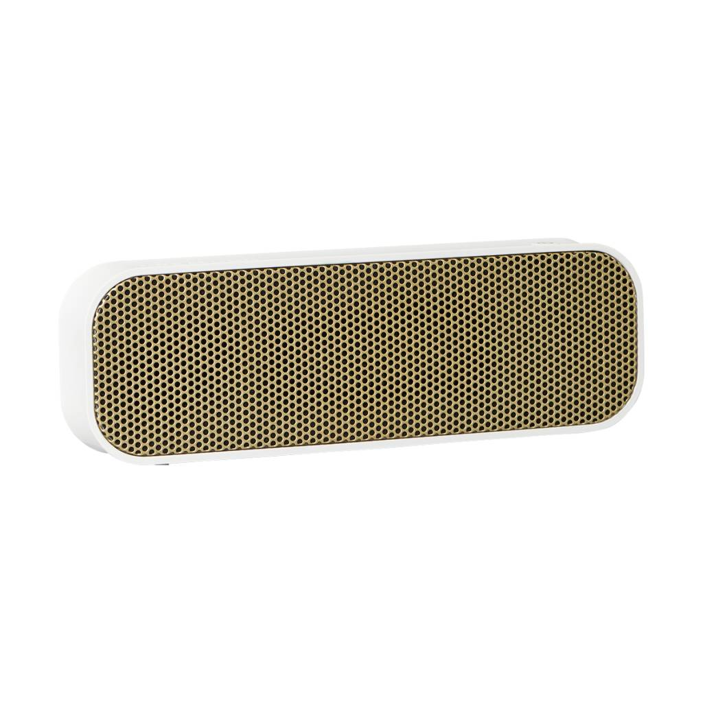 Kreafunk aGroove speaker white & gold