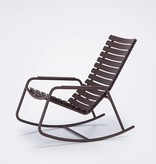 Houe Clips Rocking Chair met alu armleuning