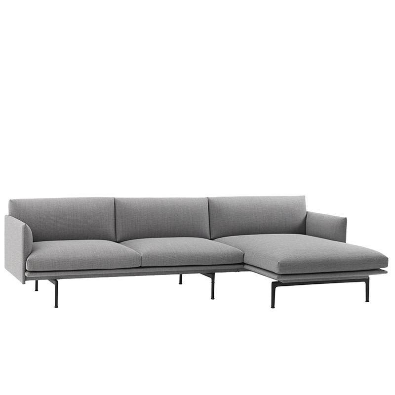 Magnificent Muuto Outline Sofa Chaise Longue Rechts Caraccident5 Cool Chair Designs And Ideas Caraccident5Info